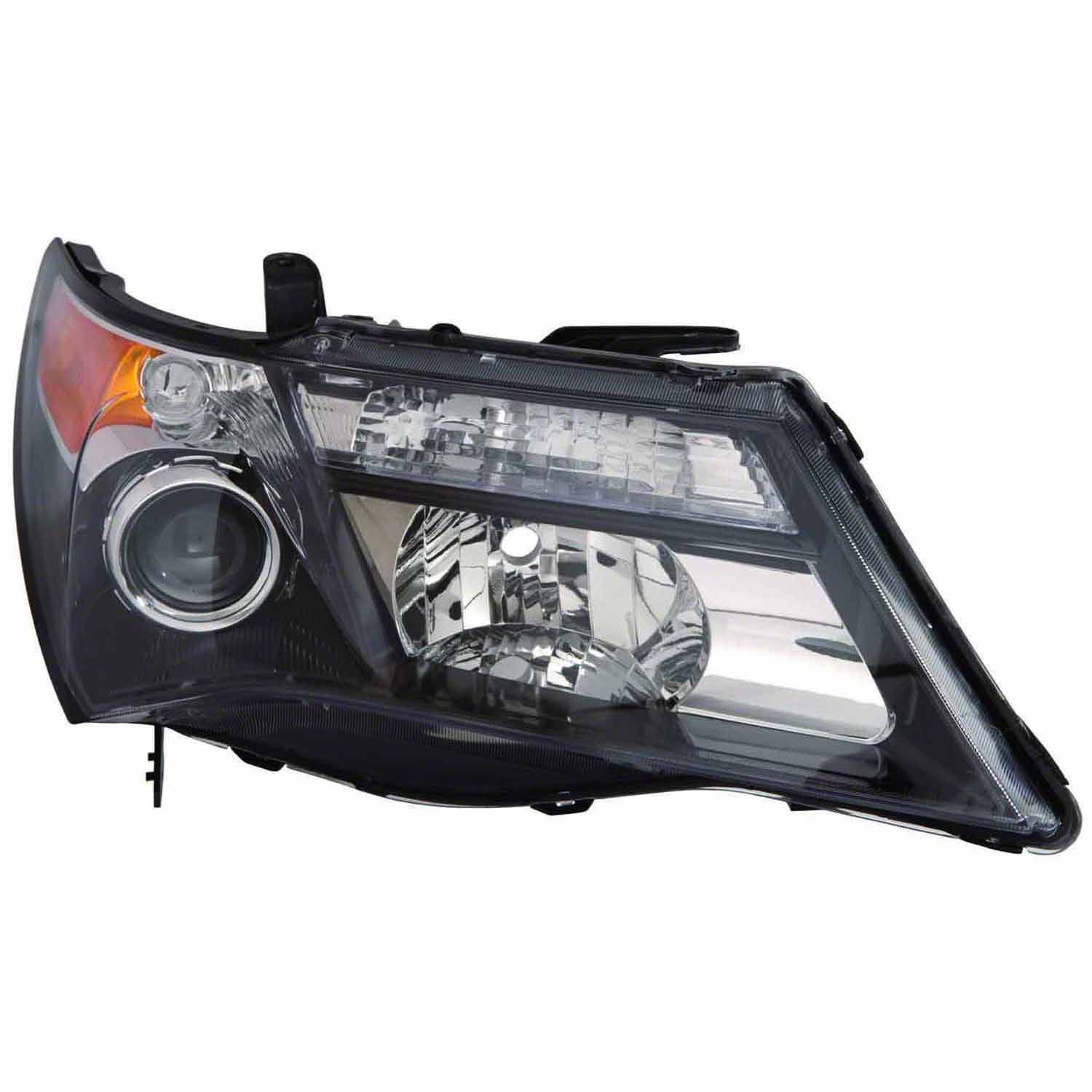 AC2519120OE New OEM Passenger Side Headlight Lens Housing