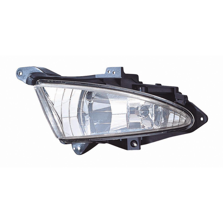 New Driver Side Fog Lamp Assembly Fits 2007-2010 Hyundai Elantra Sedan HY2592127
