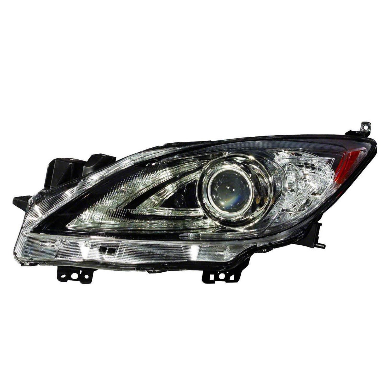 MA2518149B Original Equipment Reconditioned Driver Side Headlight Lens Housing