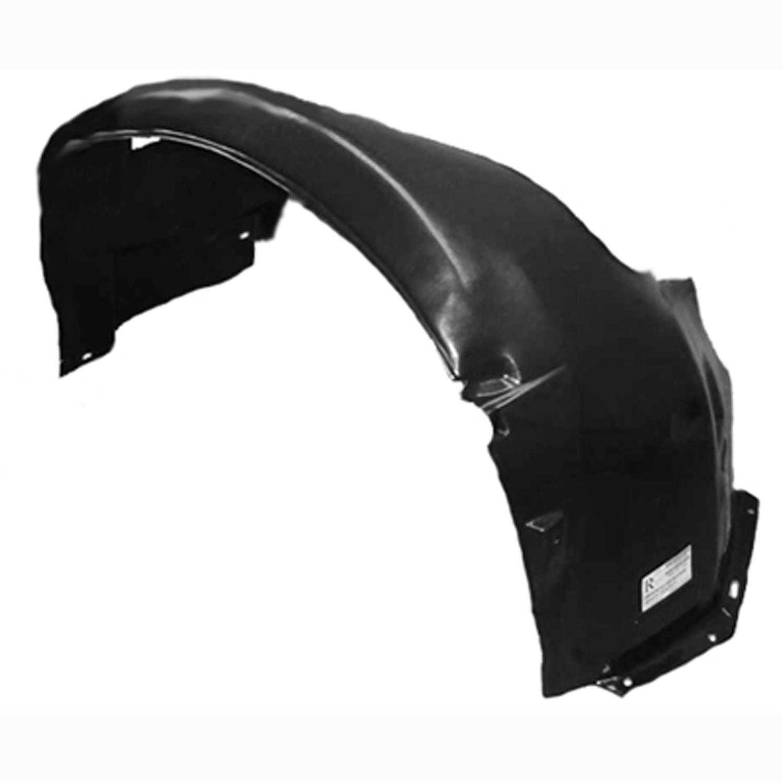 OE Replacement BMW Front Passenger Side Fender Splash Shield Partslink Number BM1251106