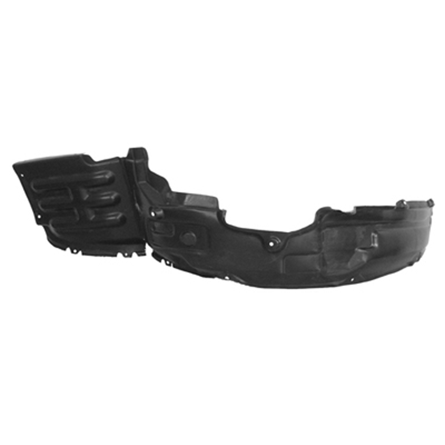 Front Driver Side Inner MI1250107 Replacement Fender for 06-08 Eclipse