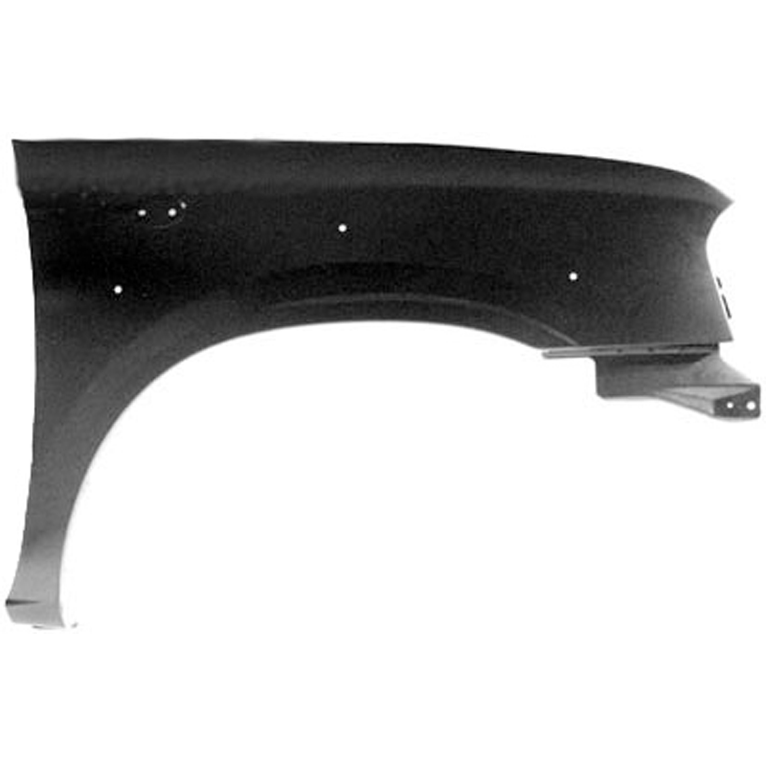 Fender For 2001-2004 Nissan Frontier Front Left Primed Steel with Molding Holes