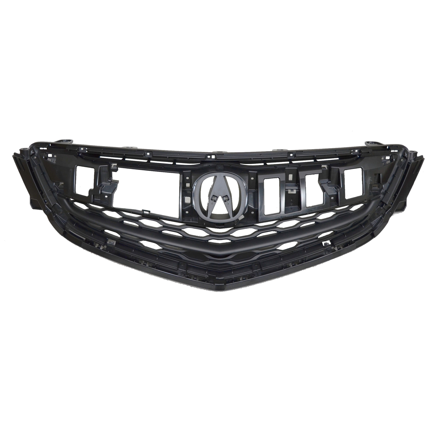 AC1200124C New Replacement Front Grille Fits 2015-2017