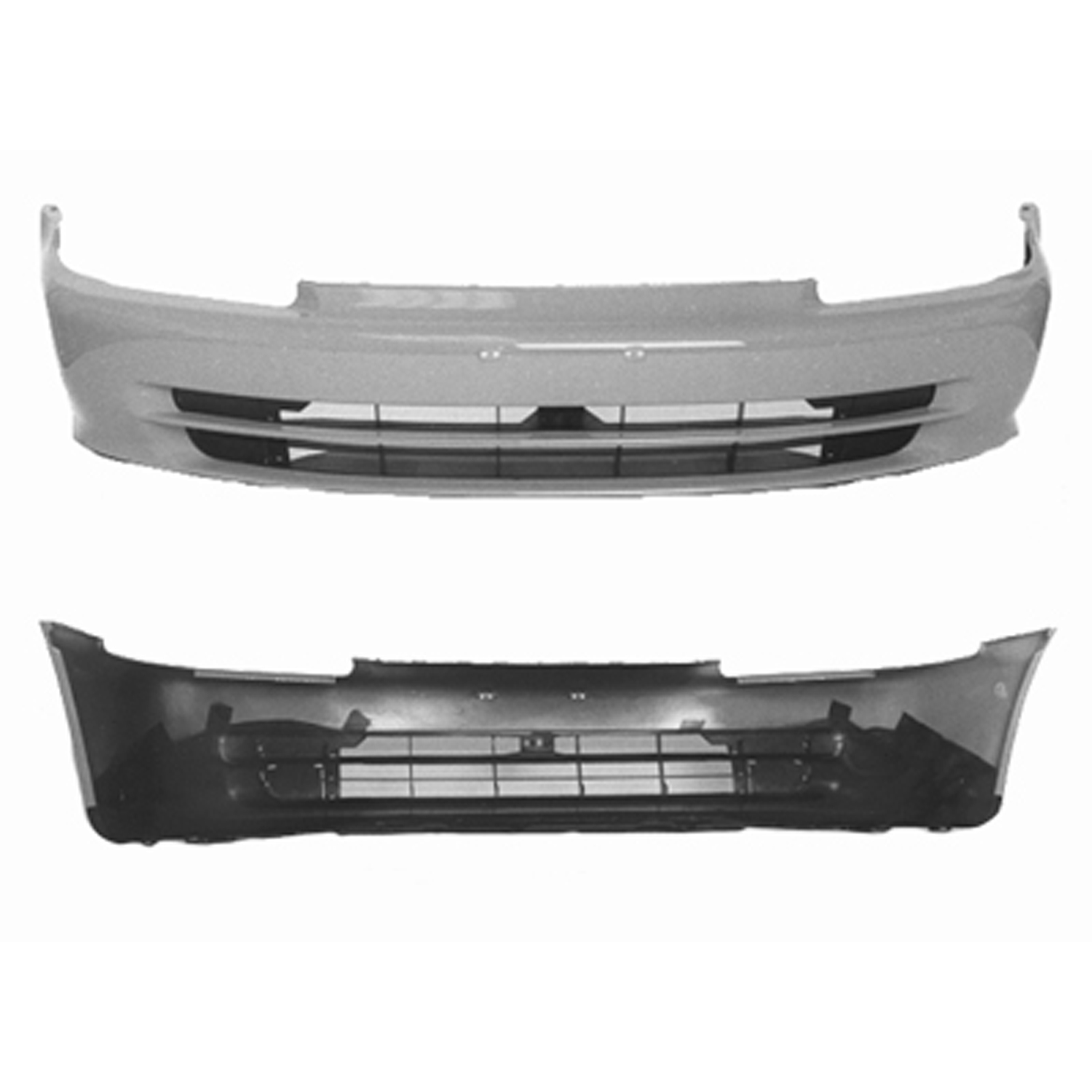 AM New Front Bumper Cover For Honda Civic 71101SR4000ZZ PRIME HO1000142
