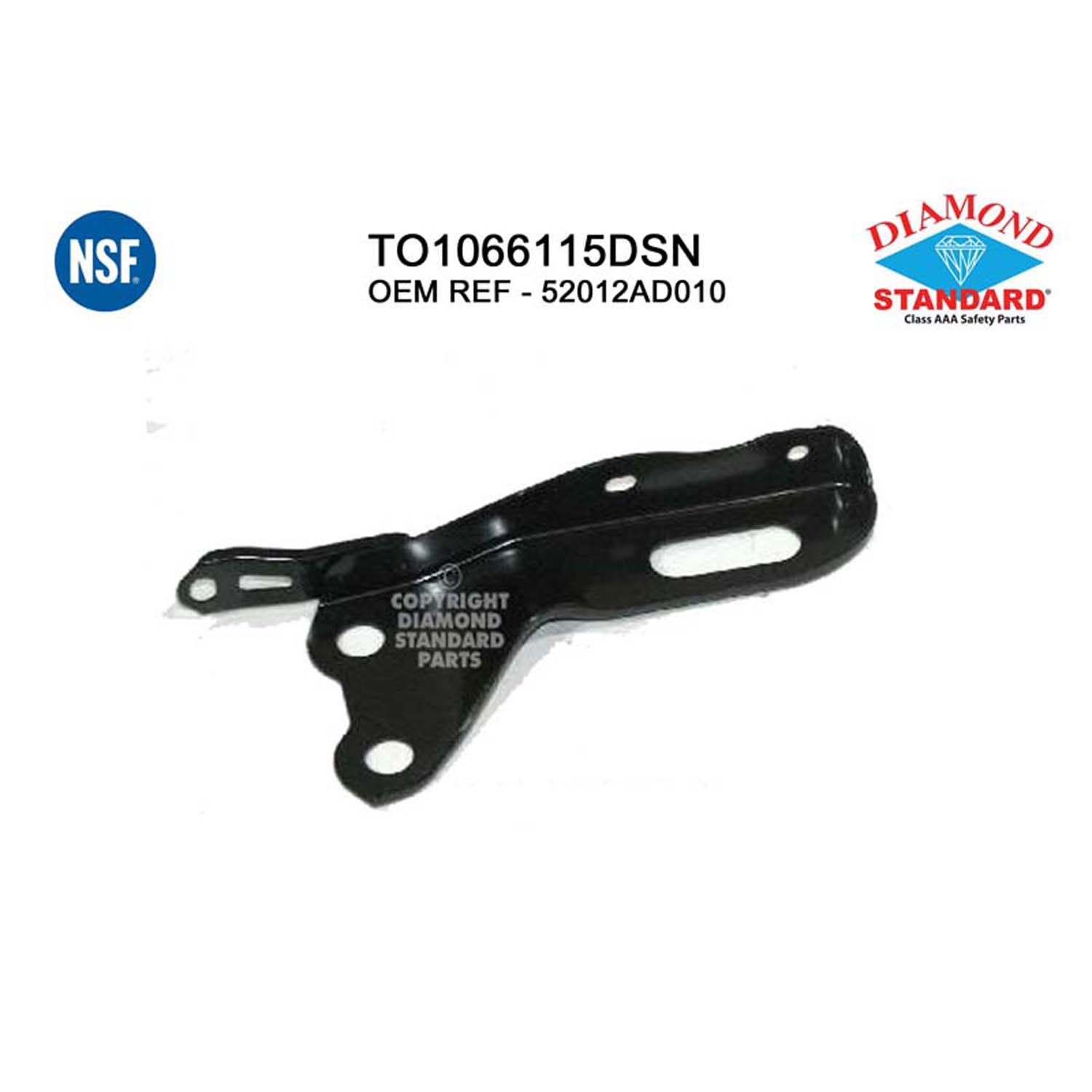 Rear Toy Tercel 10 Auto Body Doctor ABD6150 Bumper Cover Retainer