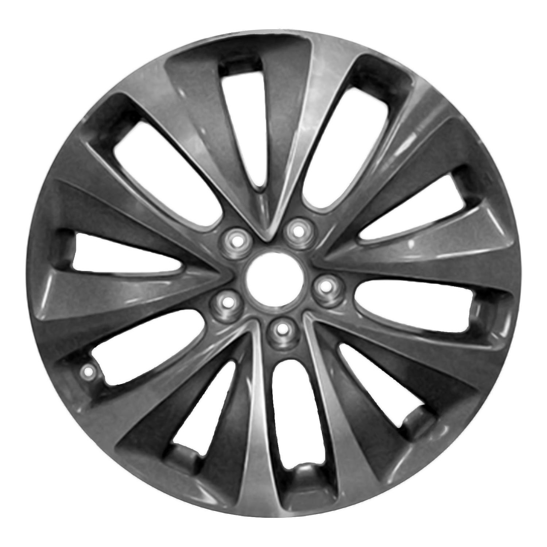 71820 New Compatible Aluminum Wheel 19x8 Fits 2014-16