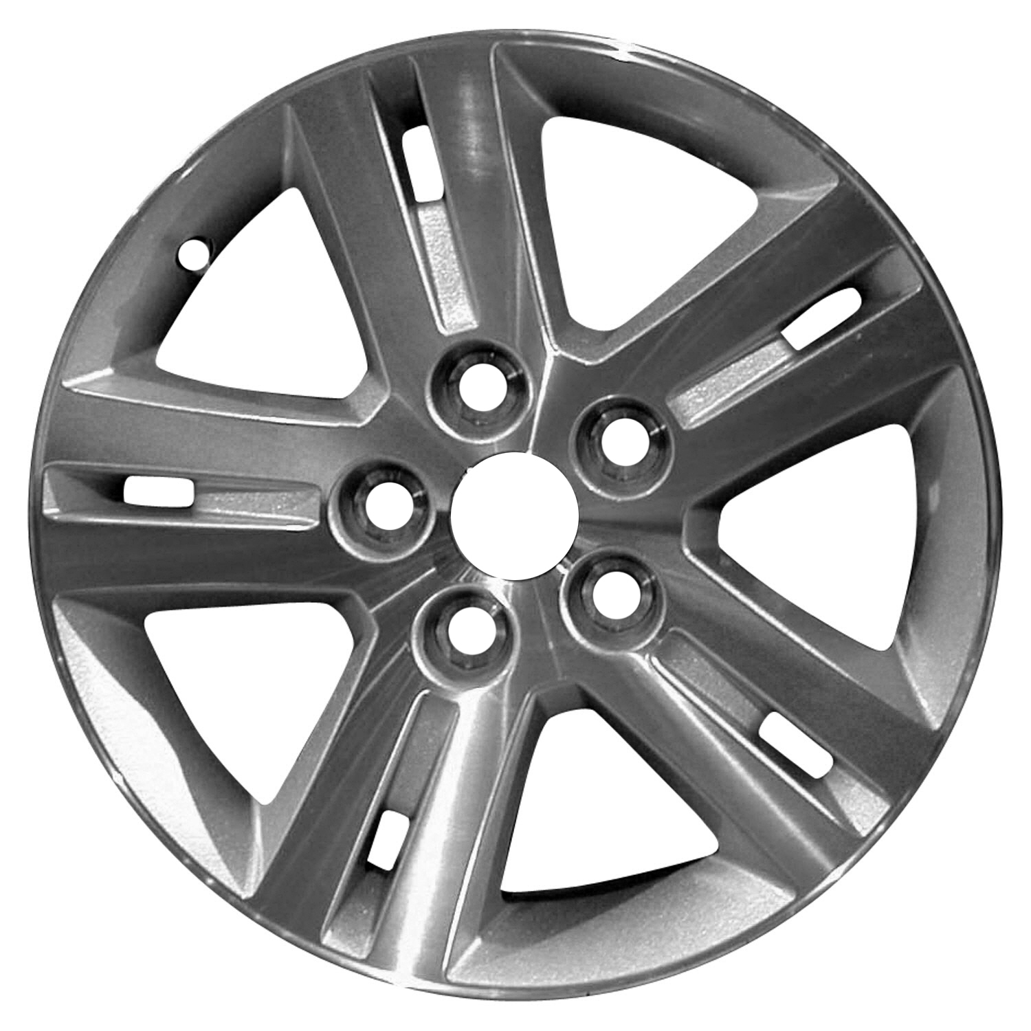 17 x 6 5 5 spoke oem dodge alloy wheel machined and charcoal 02335 2019 Dodge Ram 1500 picture 1 of 2