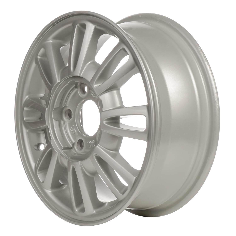 00950 Refinished Buick LeSabre 1985-1985 15 inch Black Steel Wheel Rim