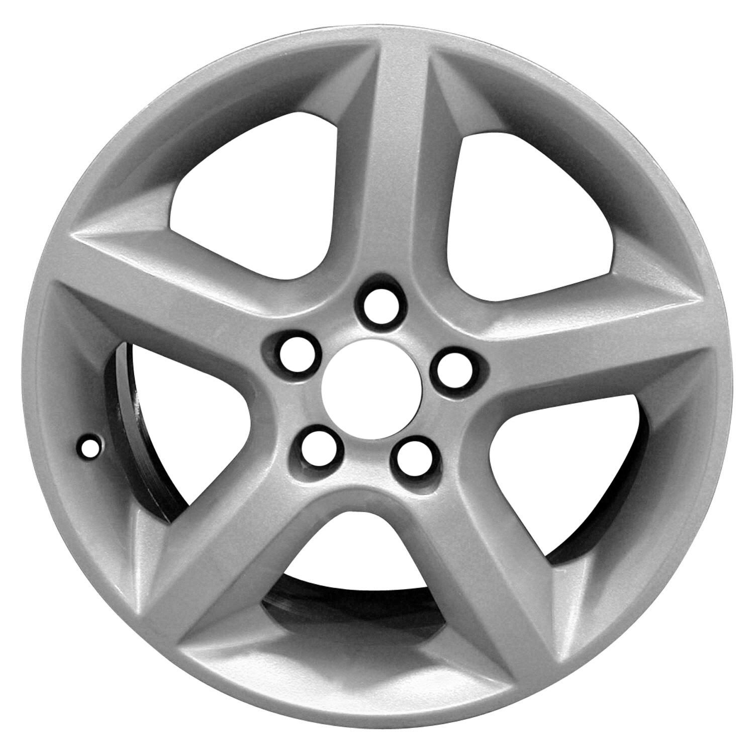 oem reman 17x7 aluminum alloy wheel rim sparkle silver full face New Dodge Dually picture 1 of 2