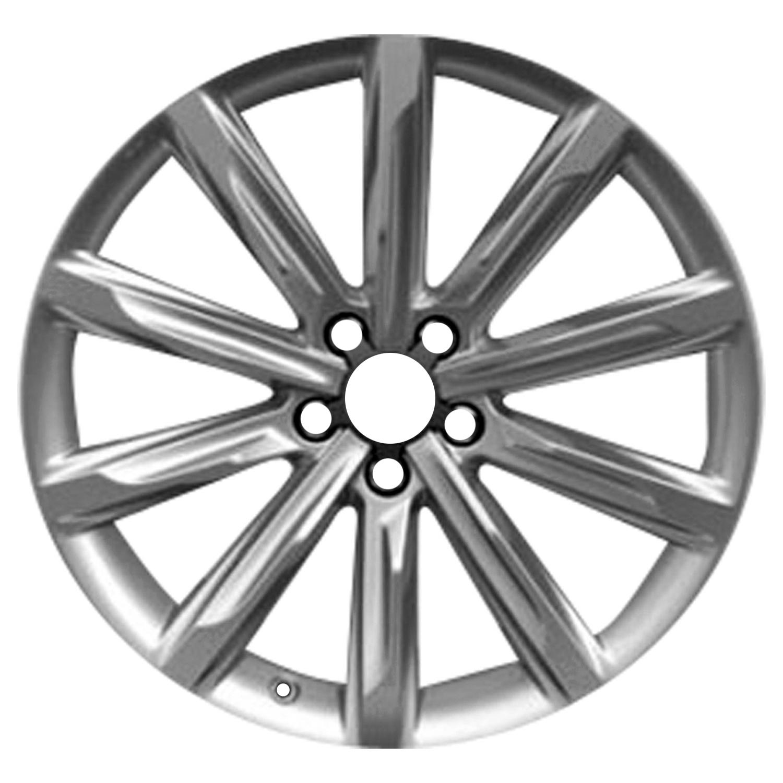 oem reman 19x8 5 alloy wheel rim silver metallic full face painted Dodge Trucks picture 1 of 2