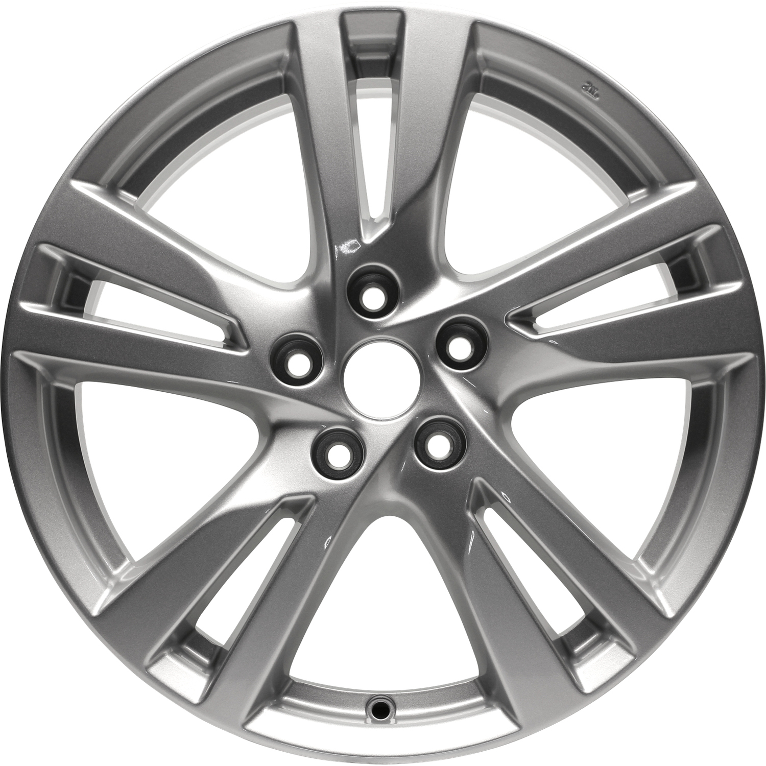 18 x 7 5 5 split spoke refurbished oem nissan alloy wheel silver 1954 Chevy Hubcaps 18 x 7 5 5 split spoke refurbished oem nissan alloy wheel silver metallic 62594